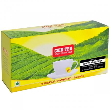 Tea-Bag-(25)---Green-Tea-Lemon